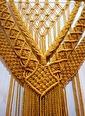 Warm Design El Yapımı Makrome Dekoratif Duvar Süsü  Renkli